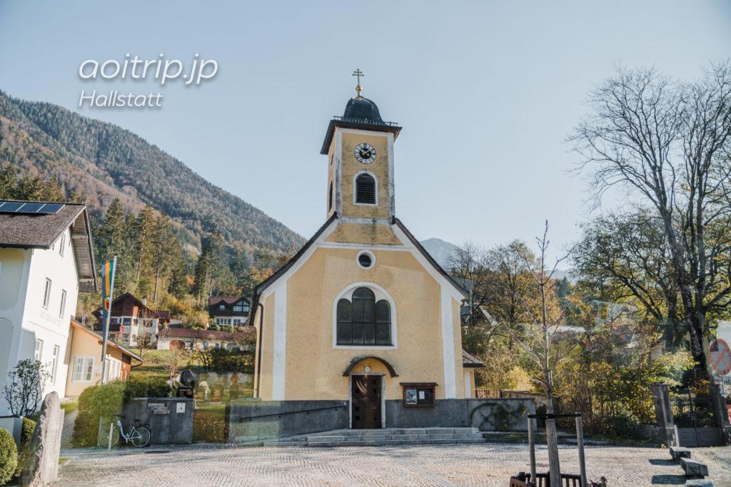 オーストリア オーバートラウンの町