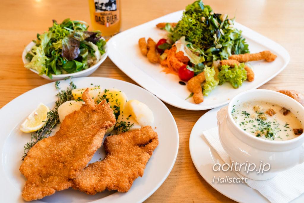 Bergrestaurant Dachstein Krippensteinのヴィーナーシュニッツェル