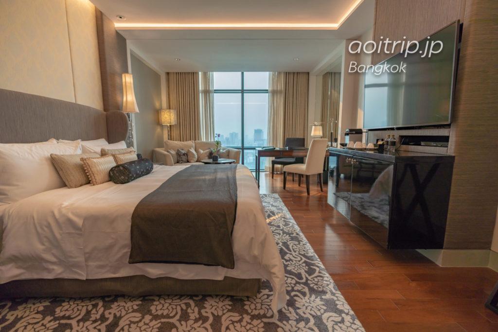 セントレジスバンコクのグランド デラックス ルーム Grand Deluxe Room, 1 King, City view