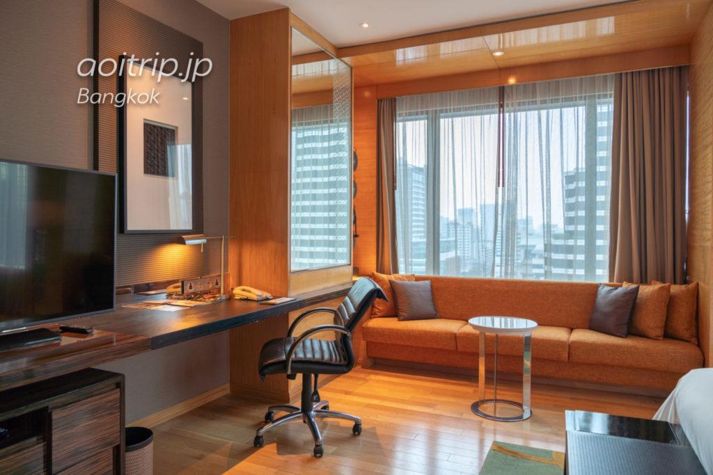 ルネッサンス バンコク ラッチャプラソーン ホテルのスタジオ キング スイート