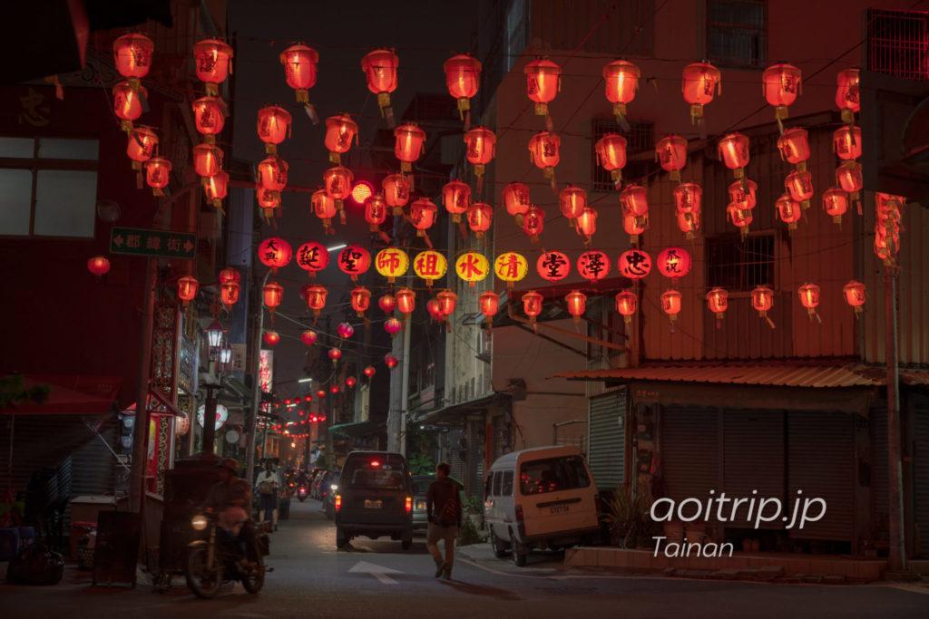 台南の新美街