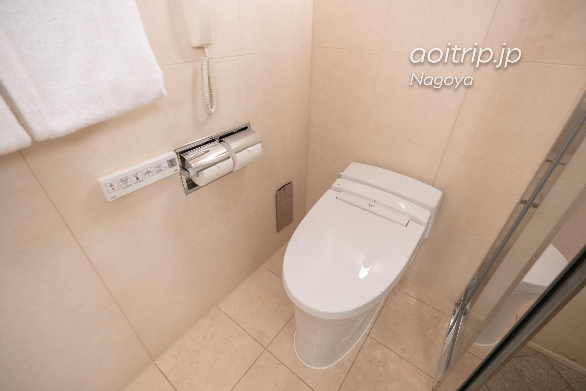 名古屋マリオットアソシアホテルのトイレ