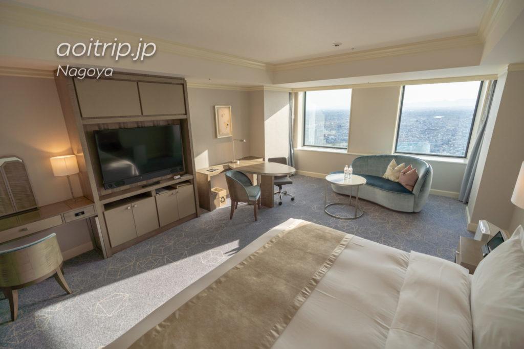 名古屋マリオットアソシアホテルのデラックスルーム