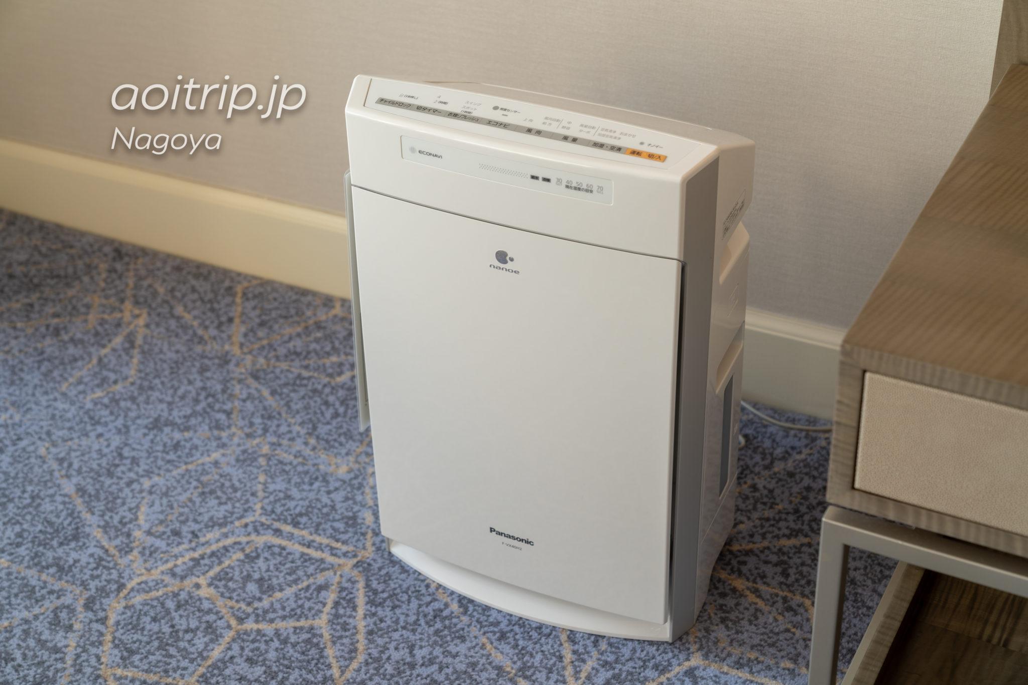 名古屋マリオットアソシアホテルの空気清浄機