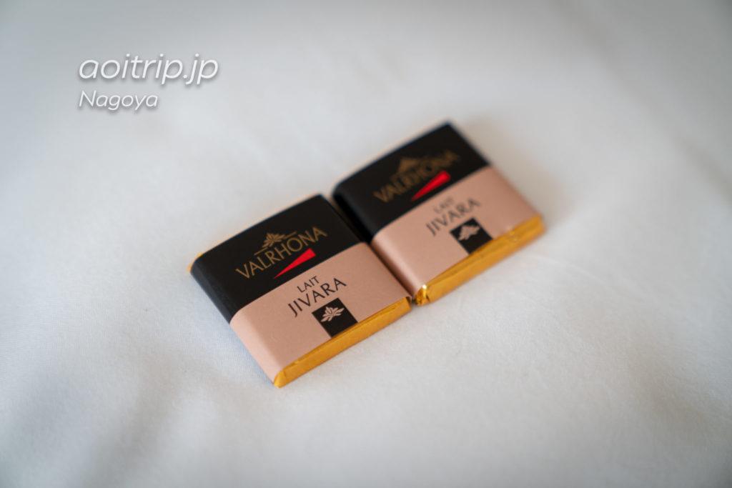 名古屋マリオットアソシアホテルのターンダウン時のチョコレート