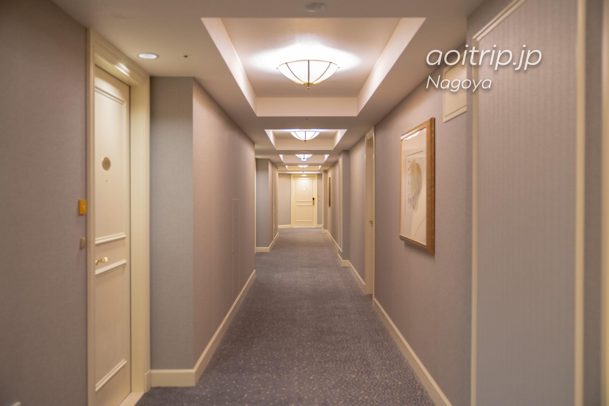 名古屋マリオットアソシアホテルの内廊下