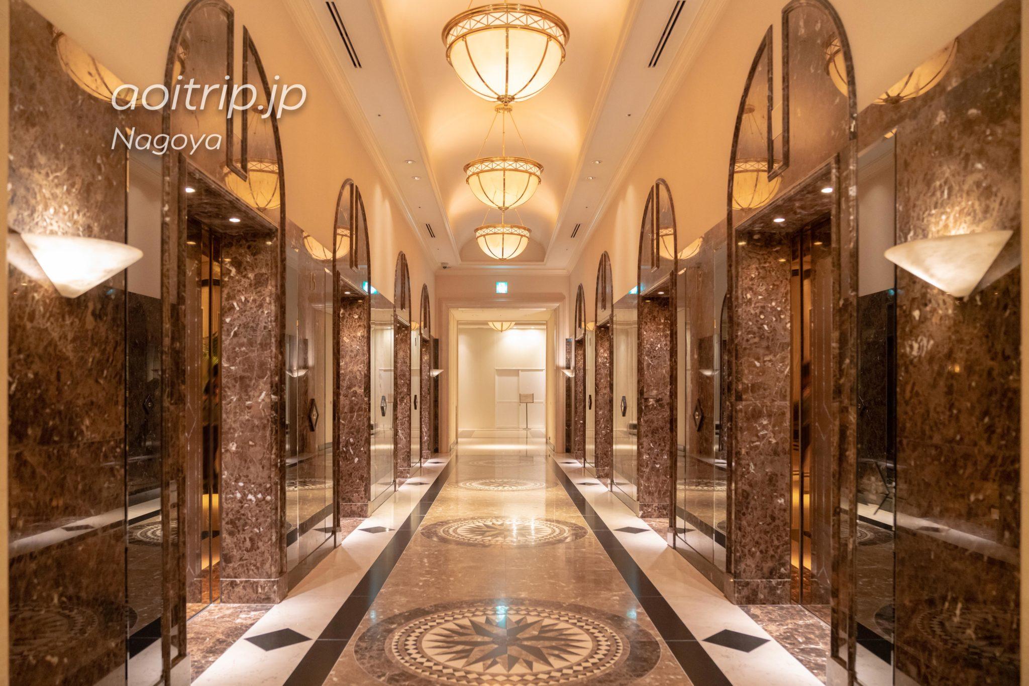 名古屋マリオットアソシアホテルのエレベーター