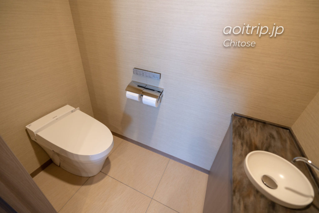 ANAクラウンプラザホテル千歳のトイレ