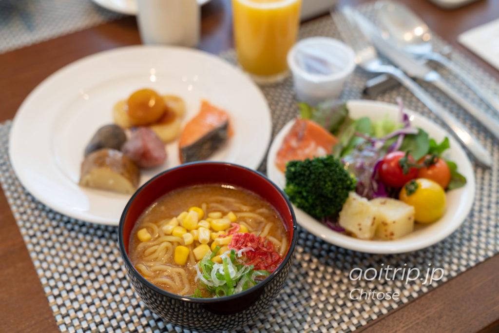 ANAクラウンプラザホテル千歳 ハスカップ ザ ガーデンの朝食