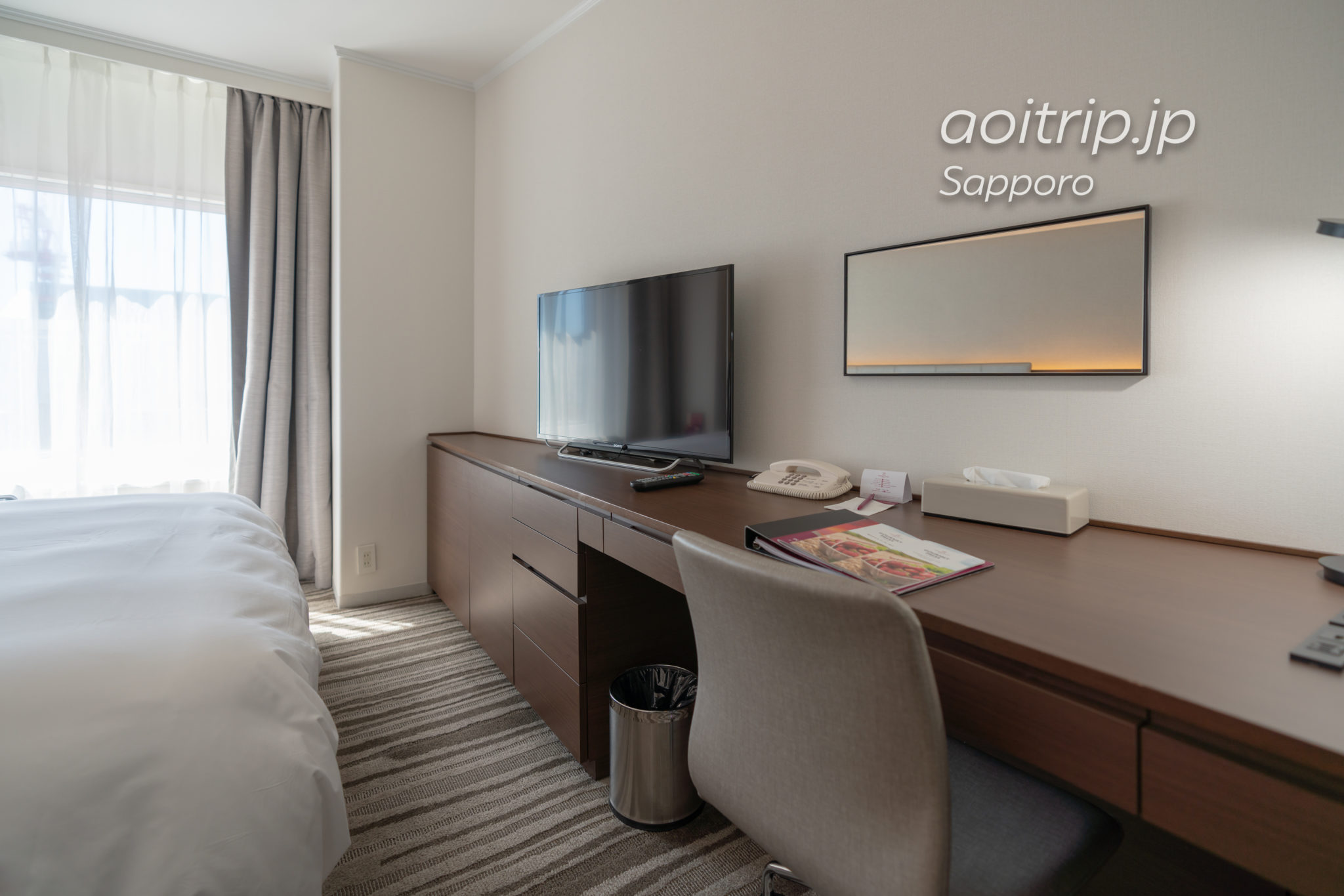 ANAクラウンプラザホテル札幌のコンフォートダブルルーム
