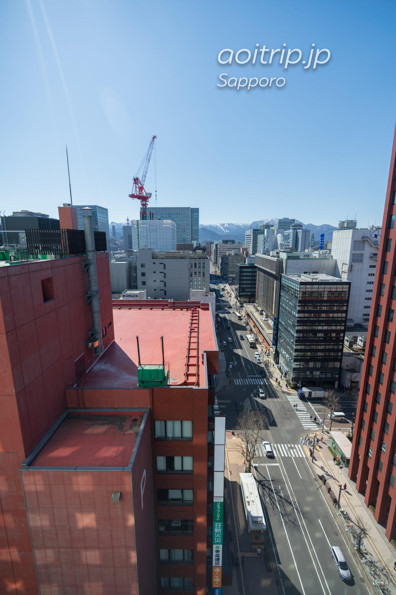 ANAクラウンプラザホテル札幌 客室からの眺望