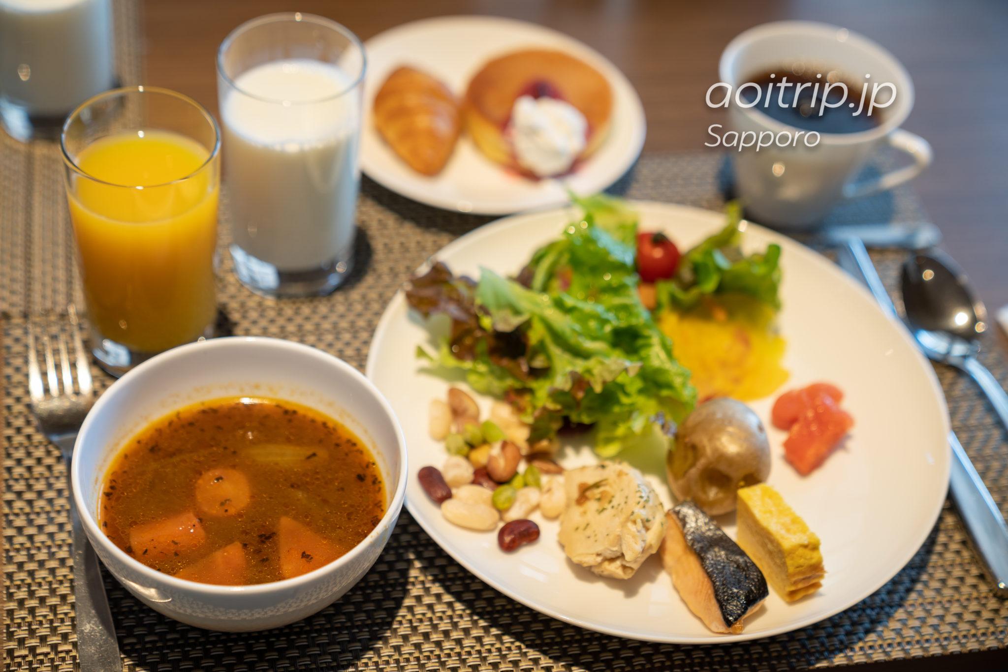 ANAクラウンプラザホテル札幌のオールデイダイニング「メム」の朝食