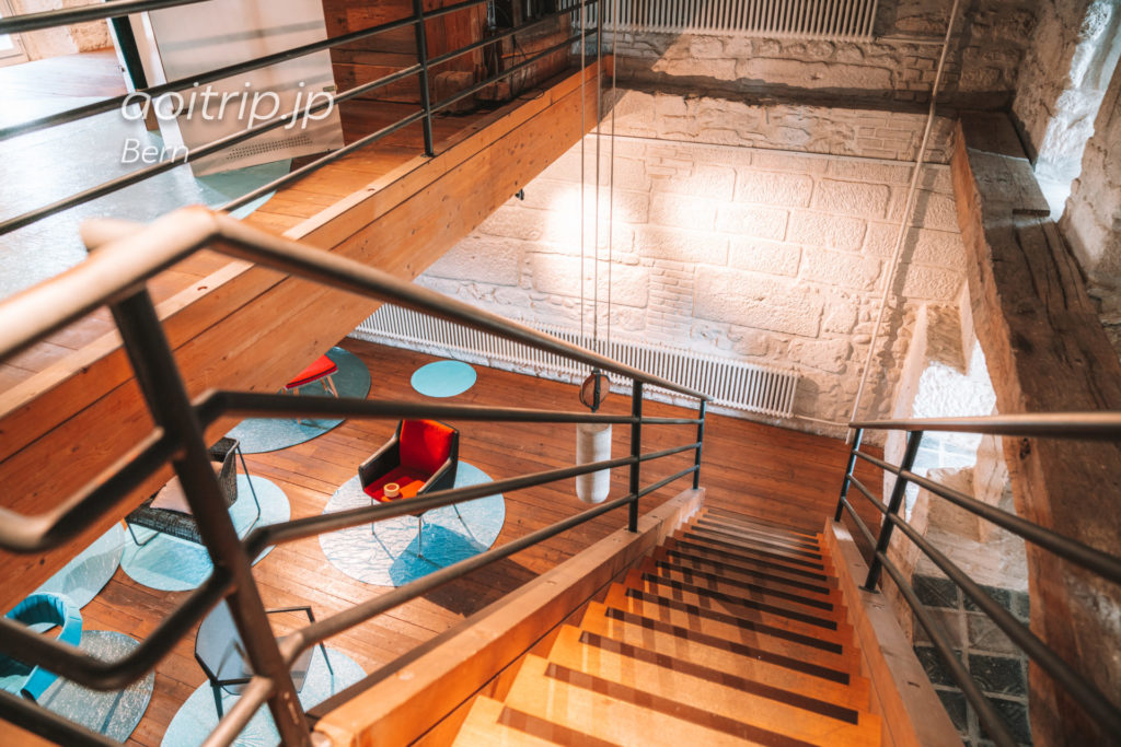 スイス ベルンの牢獄塔(Käfigturm)内部