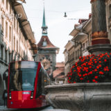 スイスの首都ベルンの噴水・泉