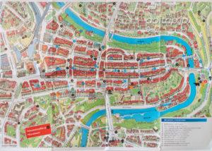ベルン旧市街の地図(マップ)