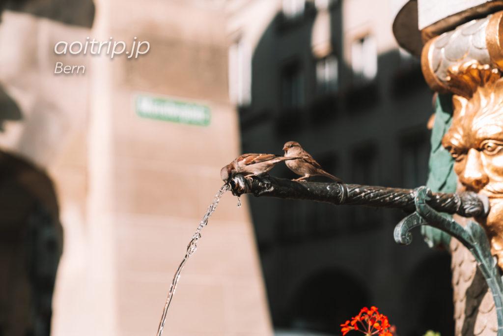 ベルンの噴水 モーゼスブルネン(独:Mosesbrunnen 英:Moses Fountain)