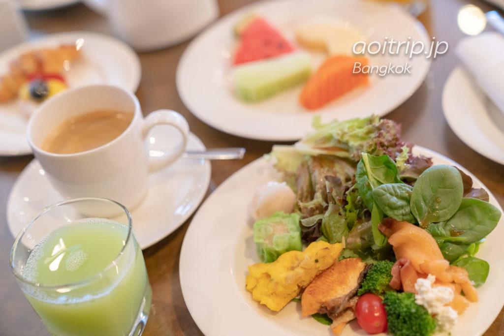 ウェスティン グランデ スクンビット バンコク クラブラウンジの朝食