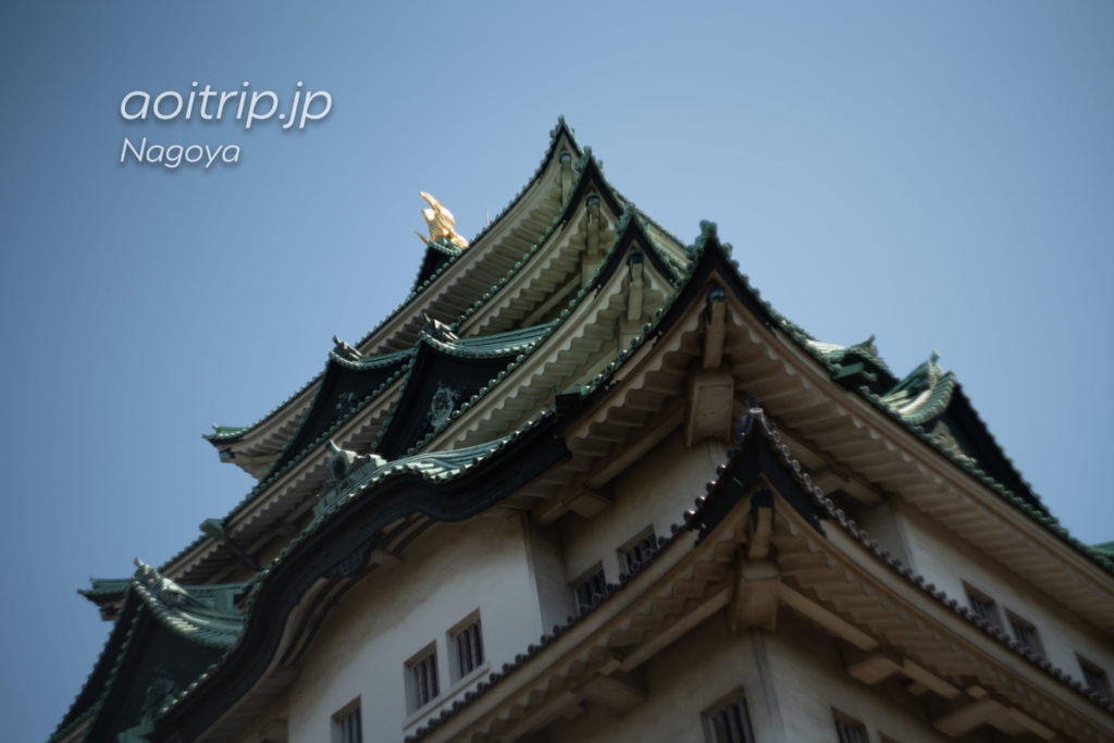 名古屋城の天守