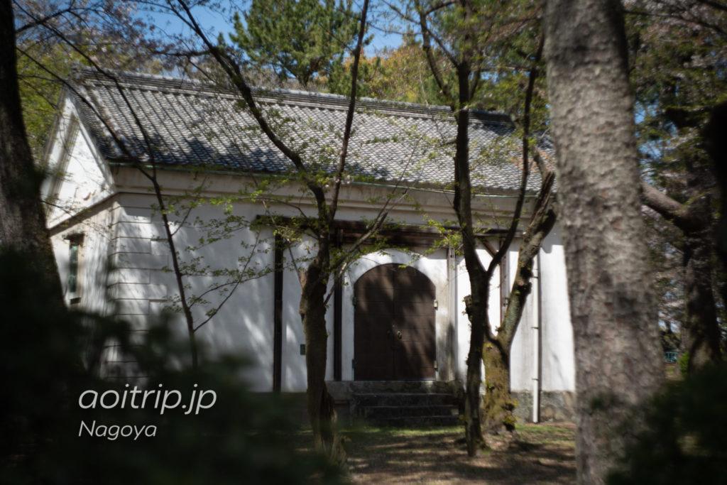 名古屋城の乃木倉庫