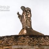 サンセバスティアン モンテウルグルのキリスト像