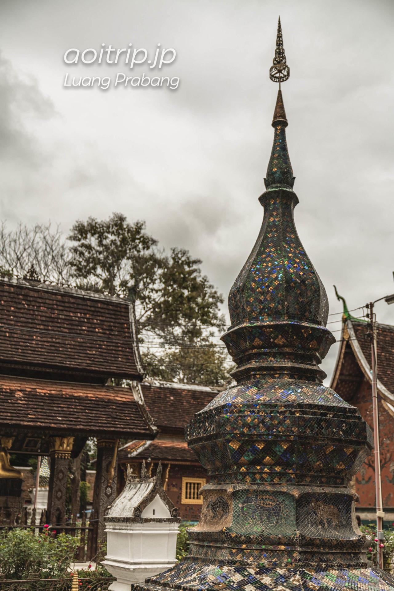 ルアンパバーンの寺院ワットシェントーン