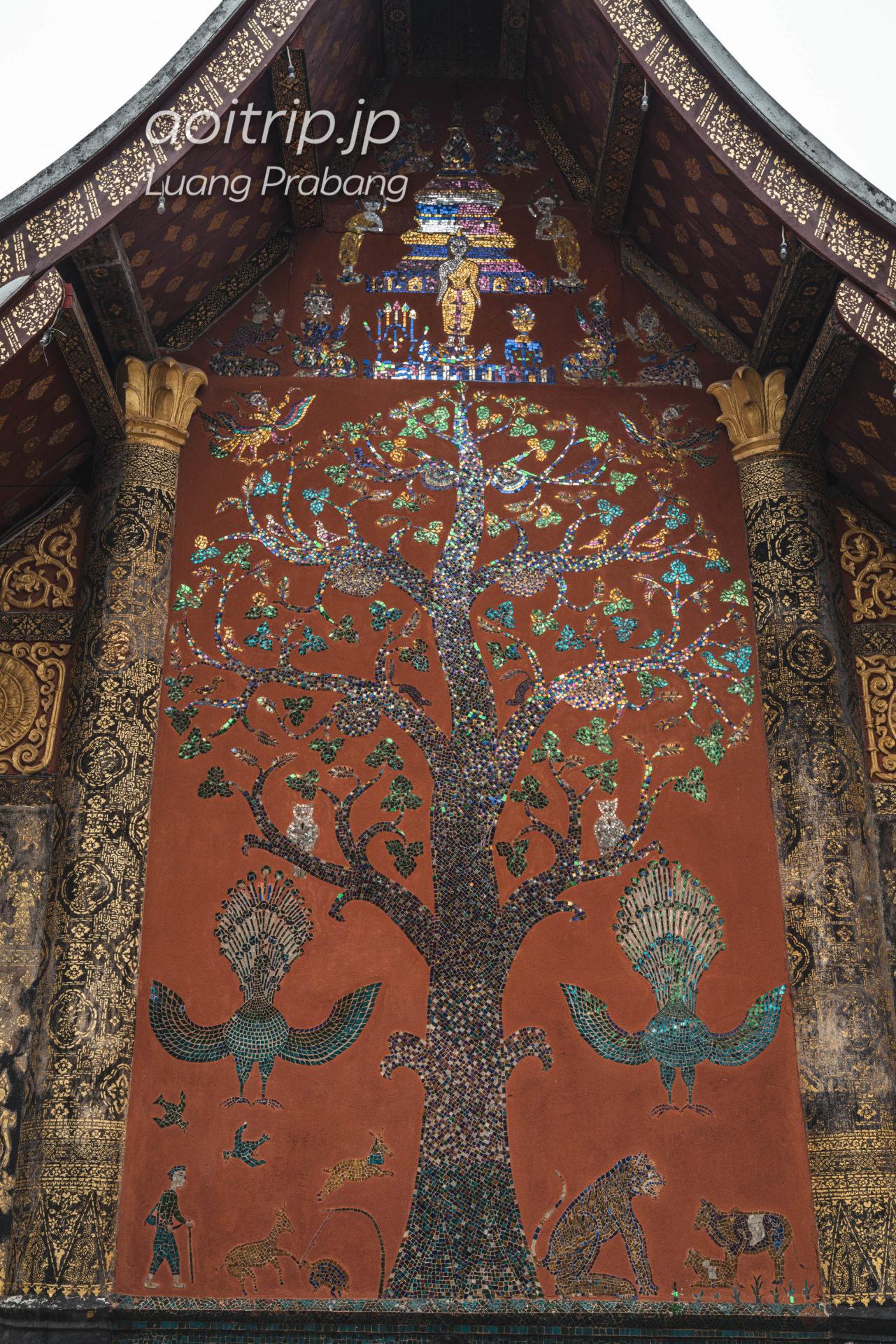 ワットシェントーンのモザイク壁画「マイトーン」