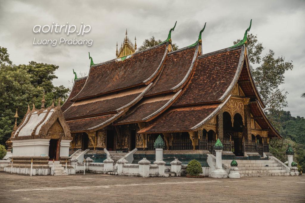 ルアンパバーンのワットシェントーン(Wat Xiengthong)の本堂