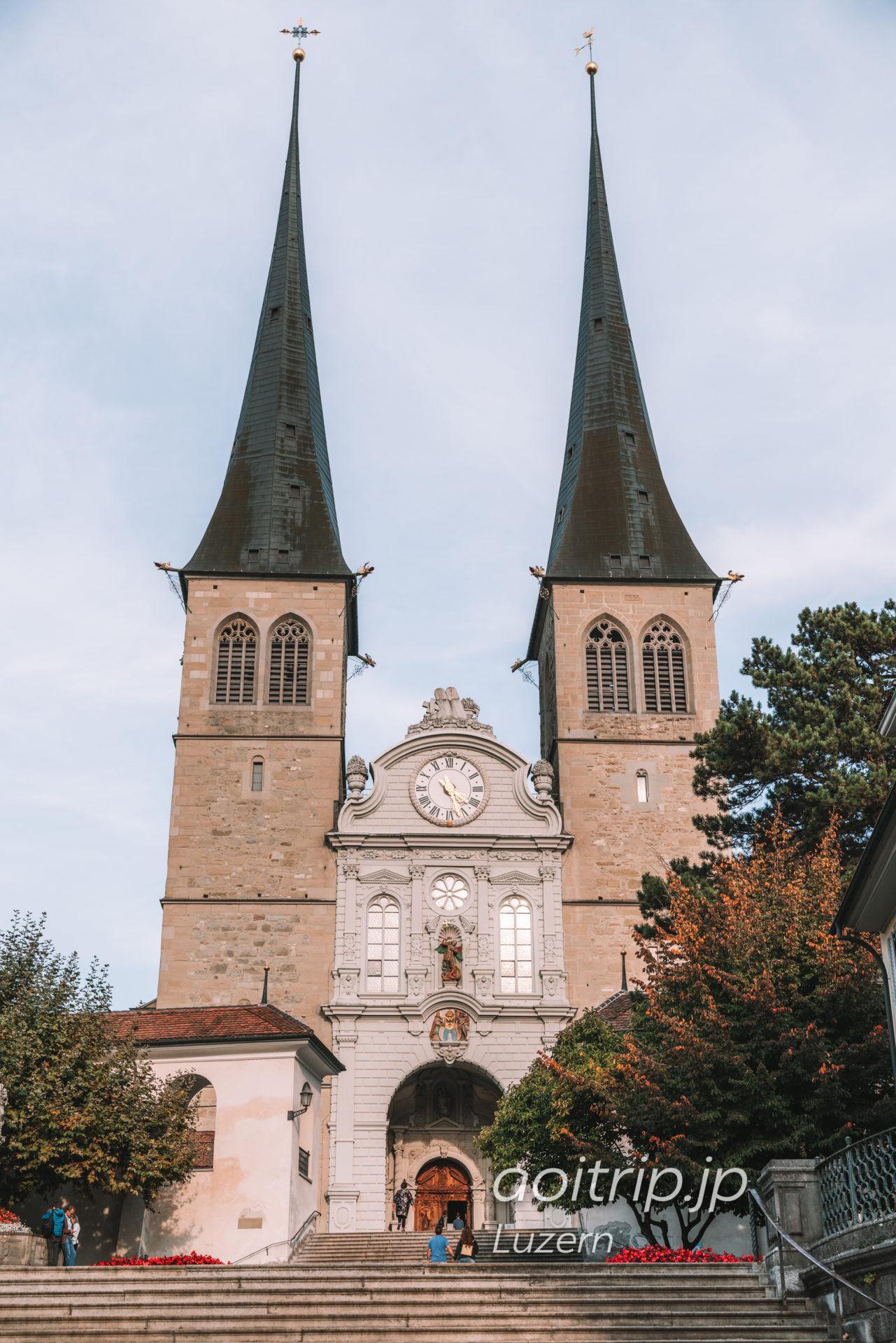 ルツェルンのホーフ教会