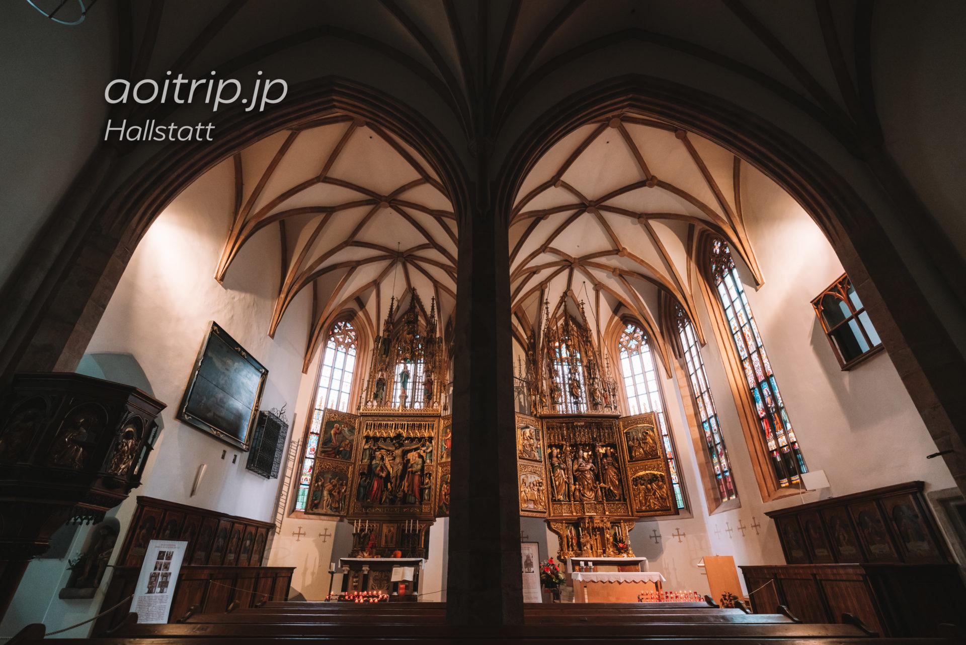 ハルシュタットのカトリック教会 Lienhart Astlによる後期ゴシック様式の祭壇画「Hallstätter Marienaltar」(推定:1510〜1520年)
