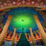 タイのワットパクナム寺院