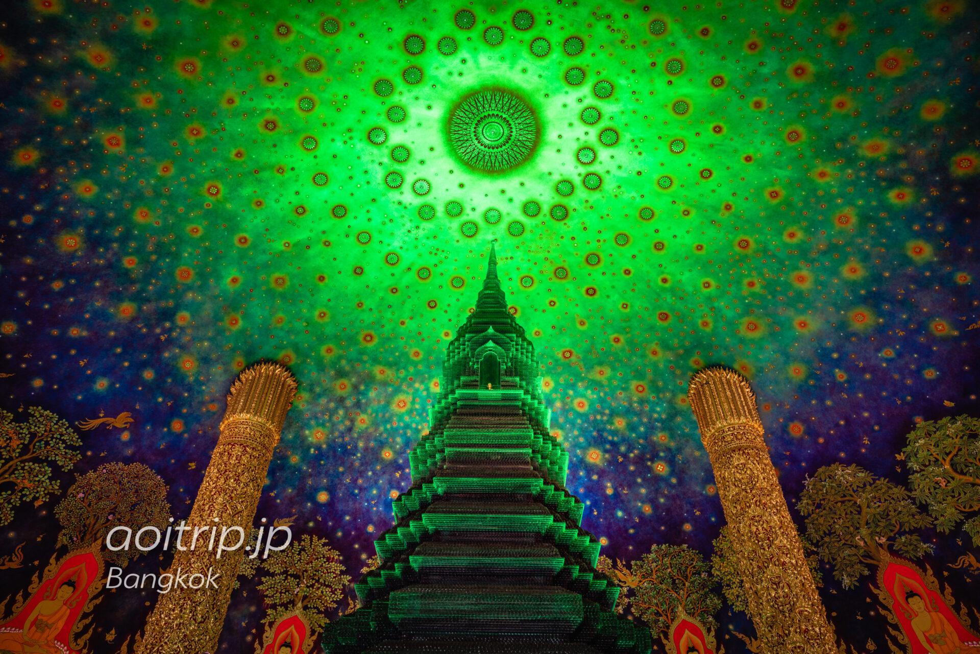 バンコクのワットパクナム寺院