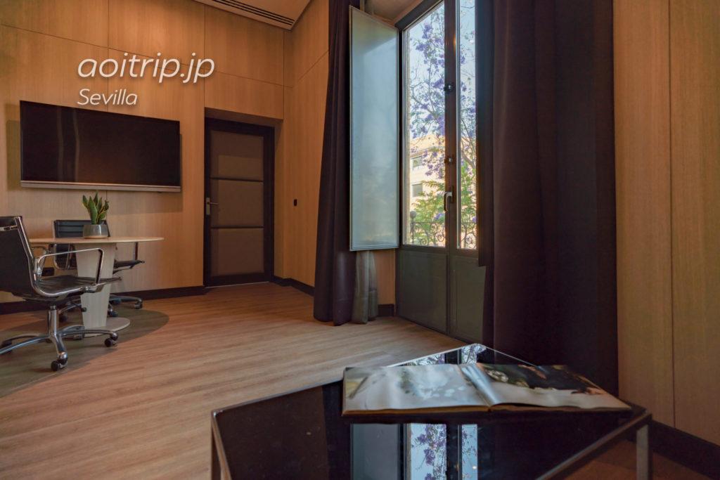 ACホテル シウダッド デ セビージャのジュニアスイート客室