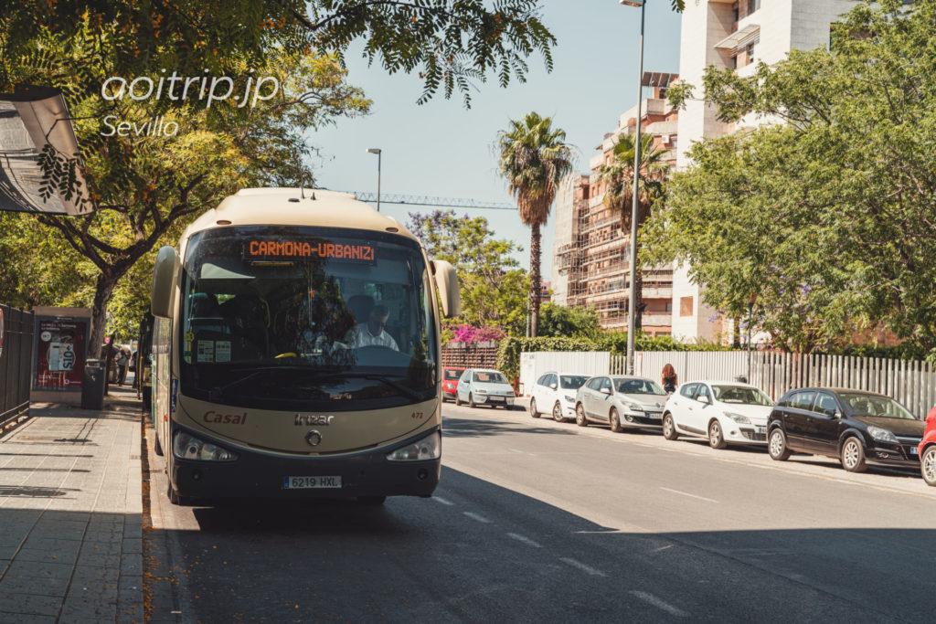 M-124 Sevilla - Carmonaのバス(セビージャ - カルモナ)