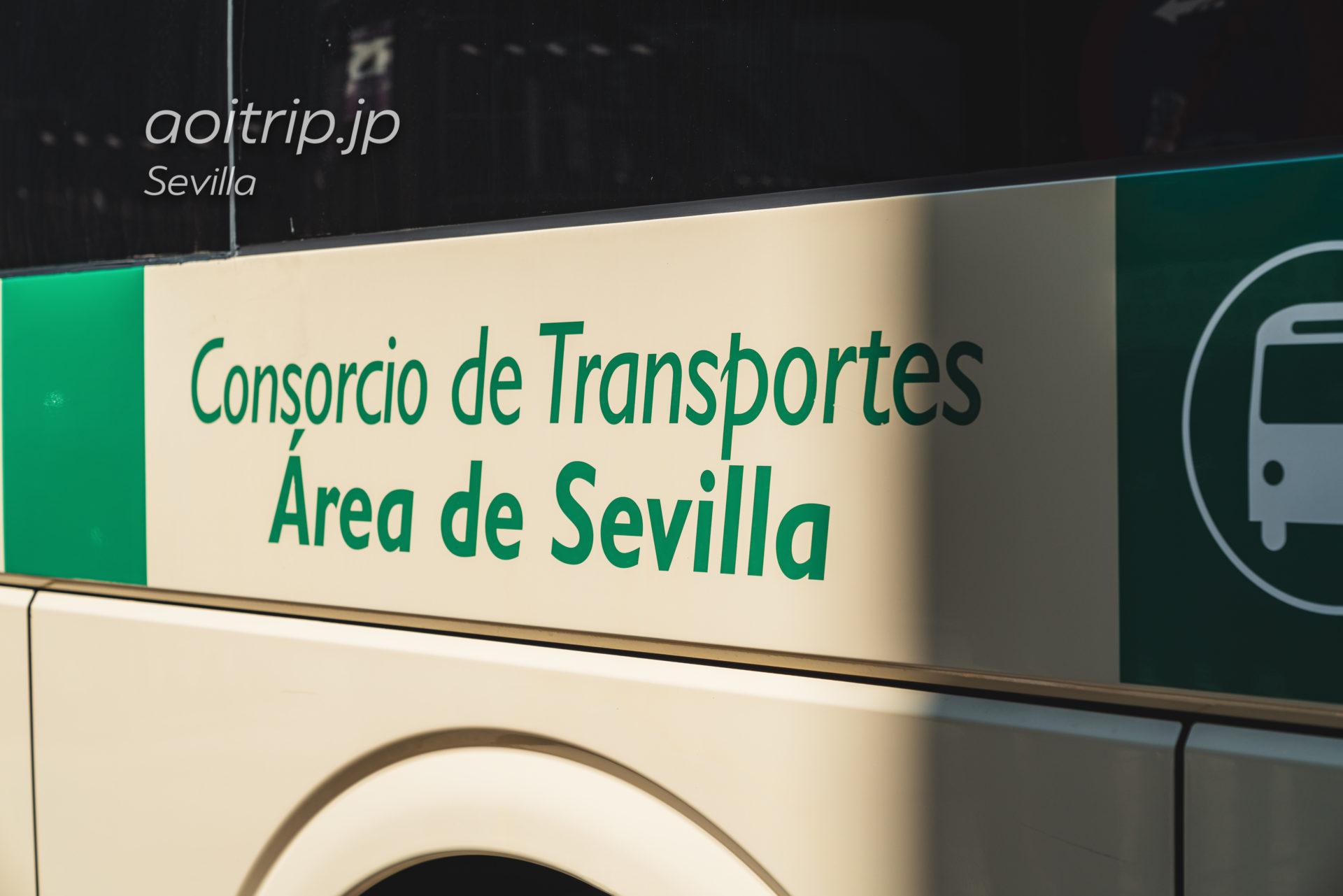 Consorcio de Transporte del Área de Sevilla社のバス