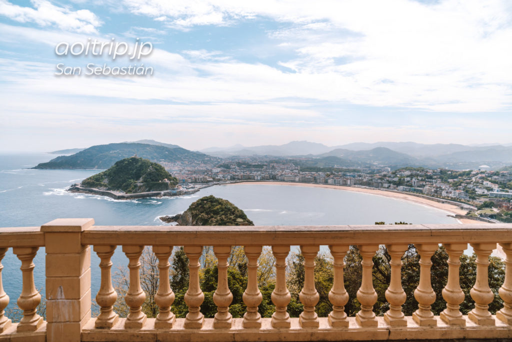 モンテイゲルド展望台からの眺望
