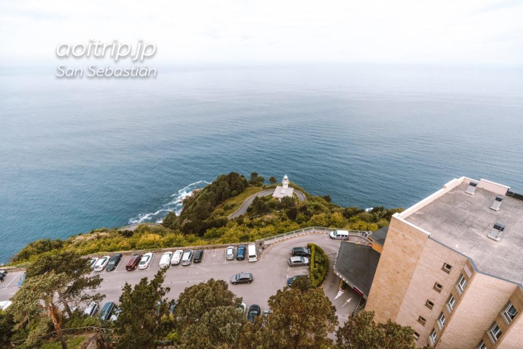 モンテイゲルドの塔 頂上からの眺望
