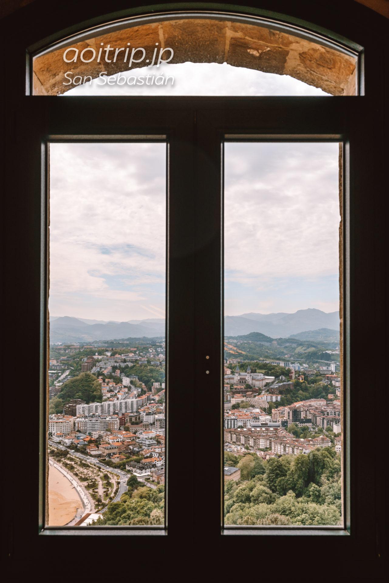 サンセバスチャン モンテイゲルドの塔