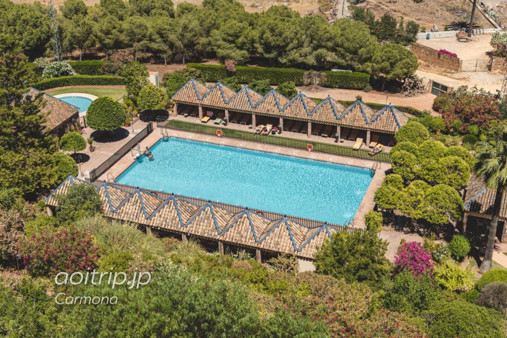 パラドールデカルモナのプール