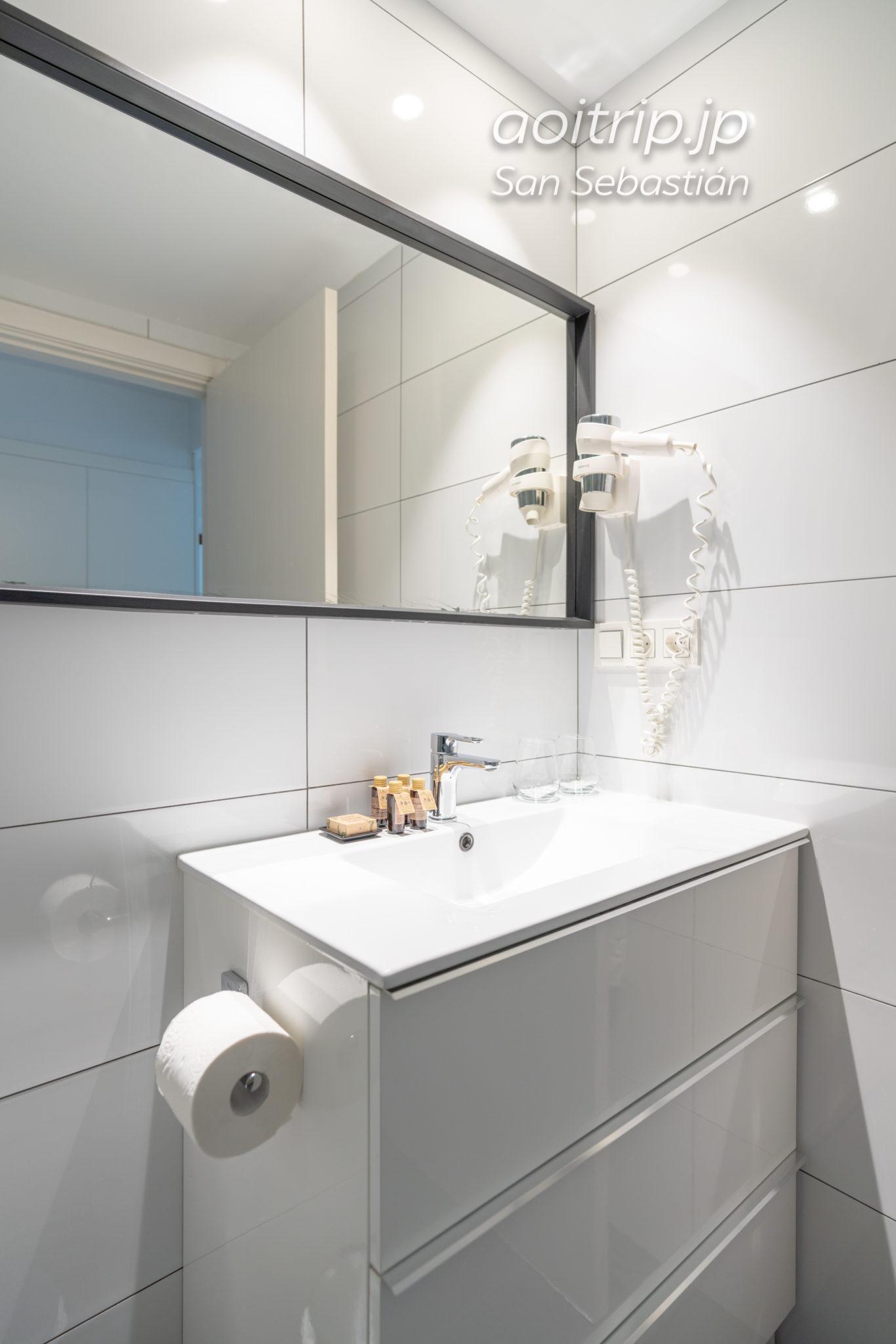 ブレバルト ドノスティアのバスルーム