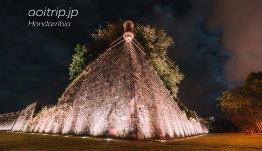夜のオンダリビアを徘徊する(スペイン)