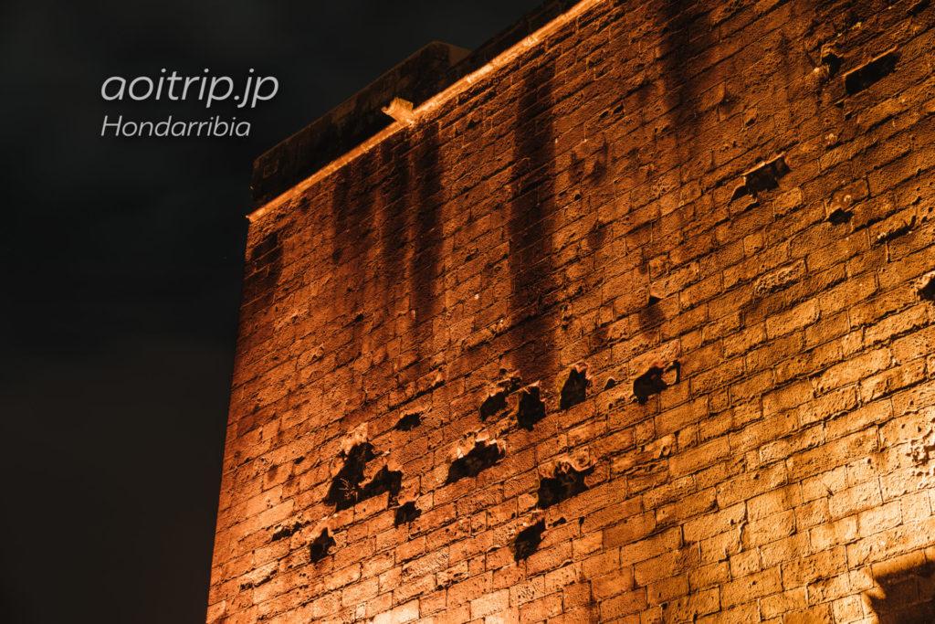 パラドールデオンダリビアの夜景