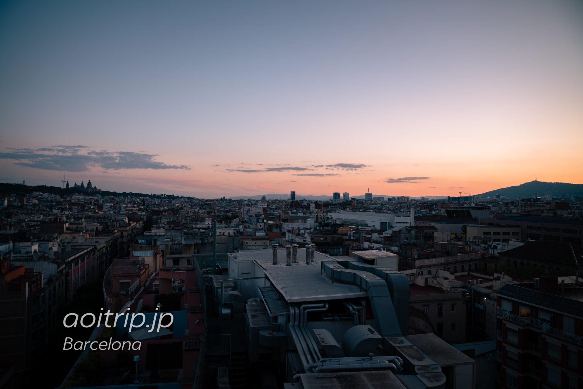 ルメリディアンバルセロナ 南西方向の眺望