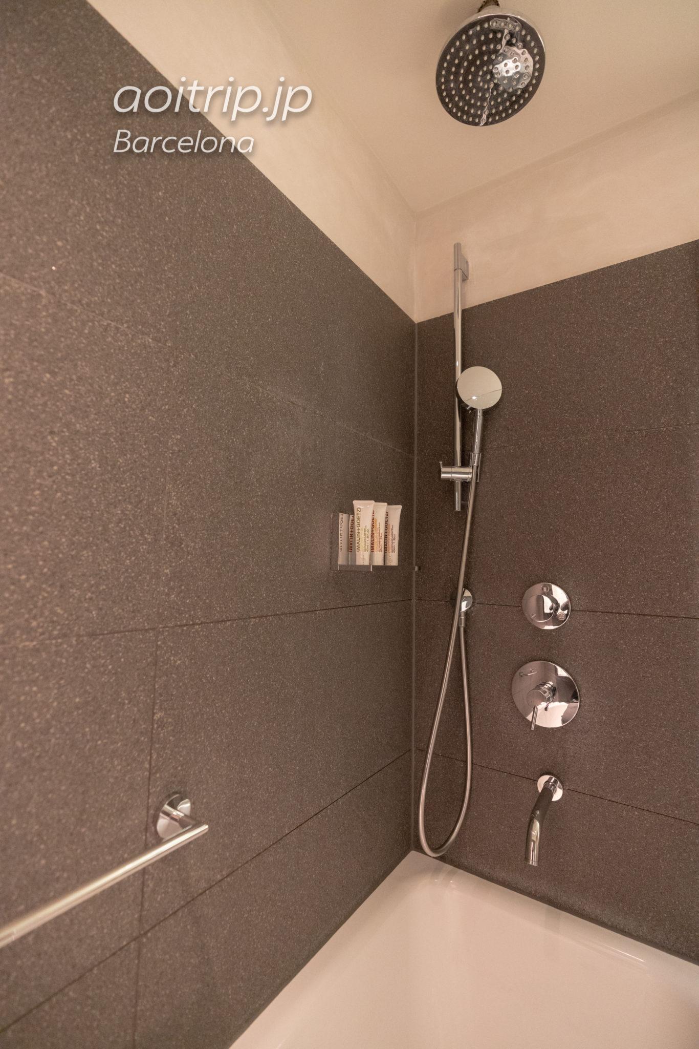 ルメリディアンバルセロナ シャワールーム