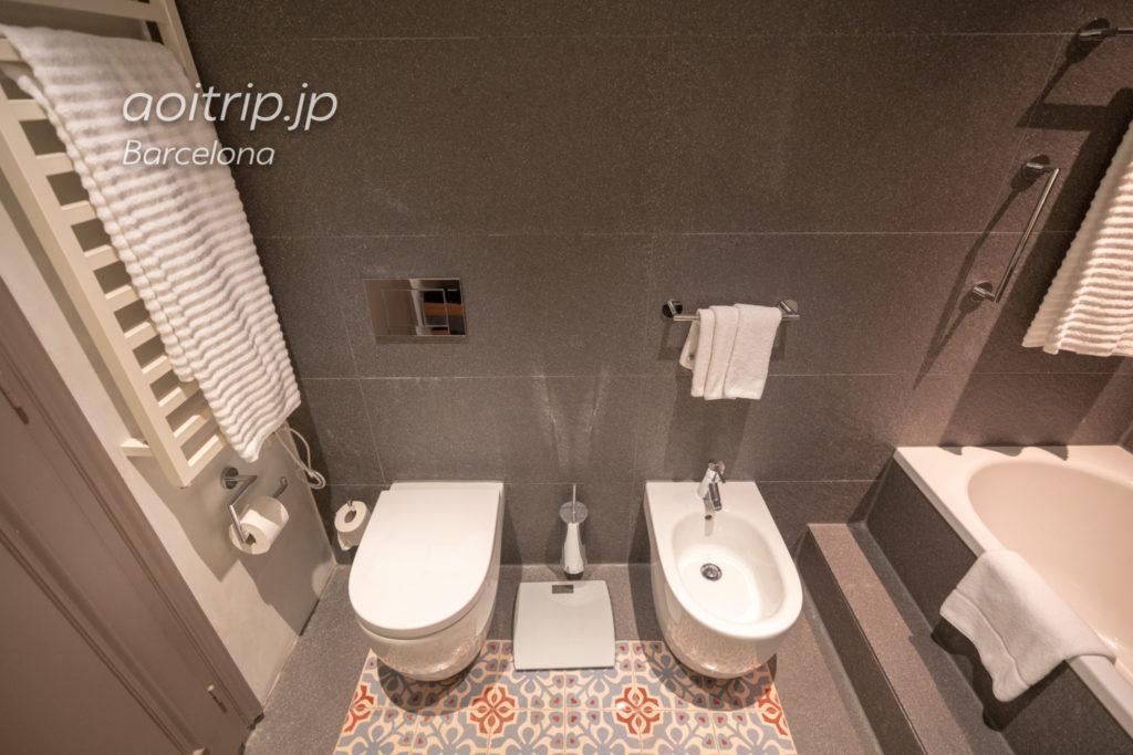 ルメリディアンバルセロナ トイレ