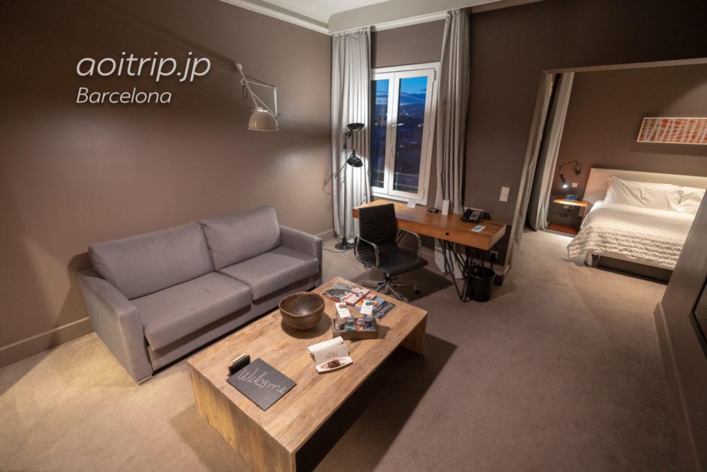ルメリディアンバルセロナ ジュニアスイート客室