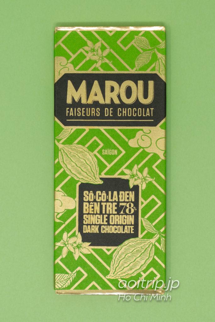 ベトナムのスーパーフード ローカカオ Marou(マルゥ) Single Origin BEN TRE 78%