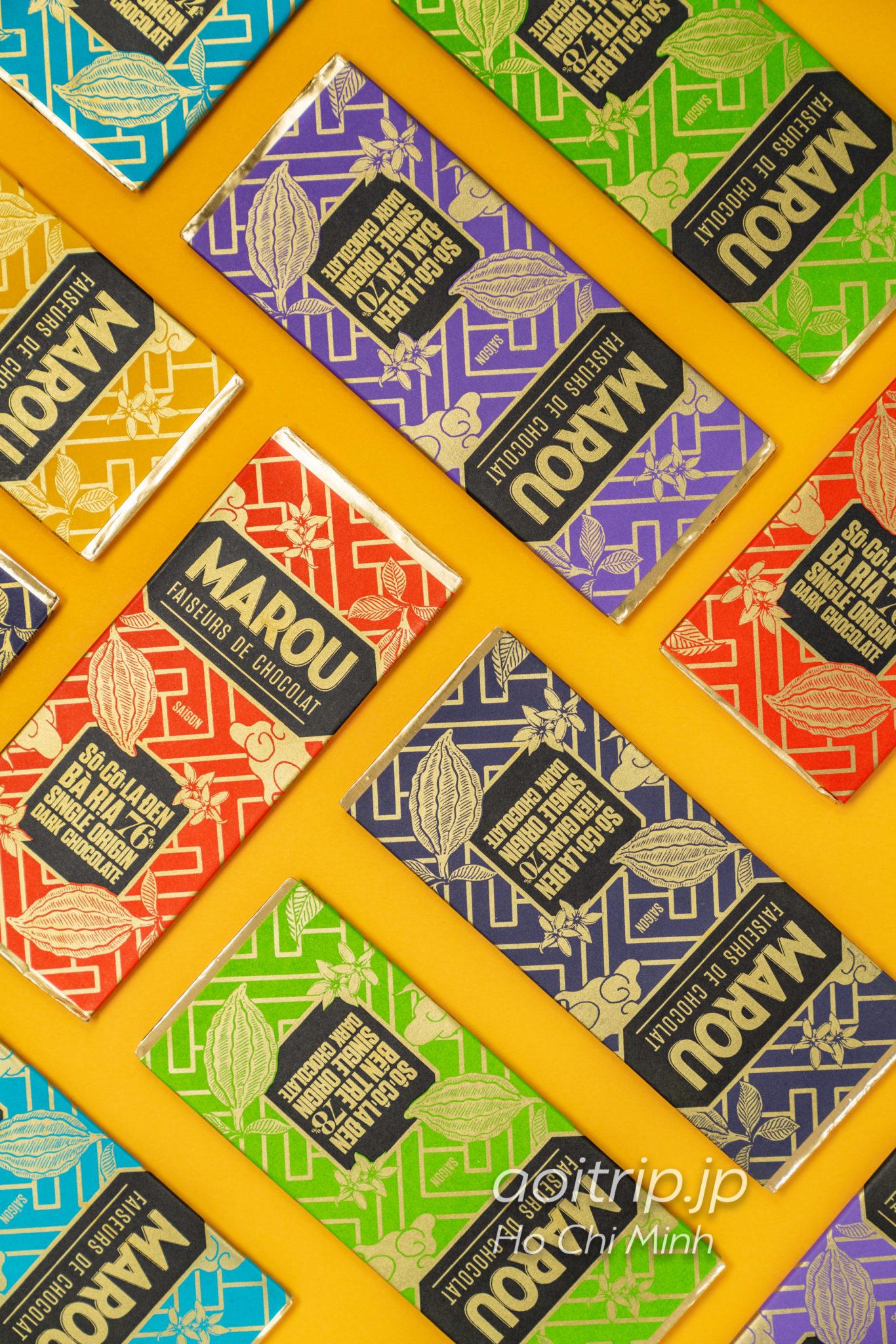 ベトナムのスーパーフード ローカカオ Marou(マルゥ) Single Origin全6種類