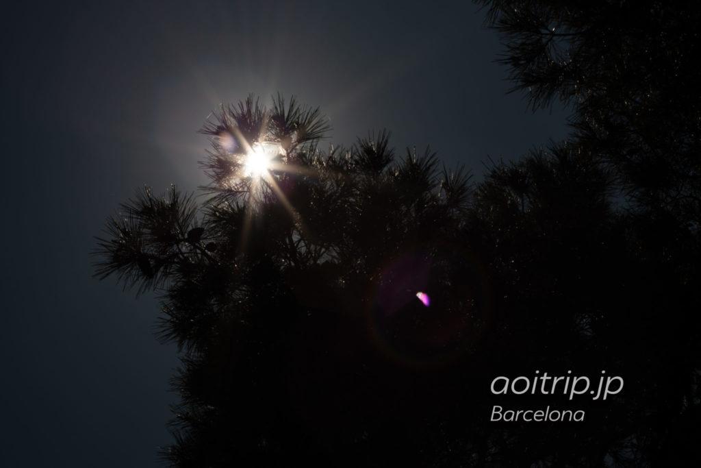 バルセロナ ゴルゴダの丘 Turó de les Tres Creus
