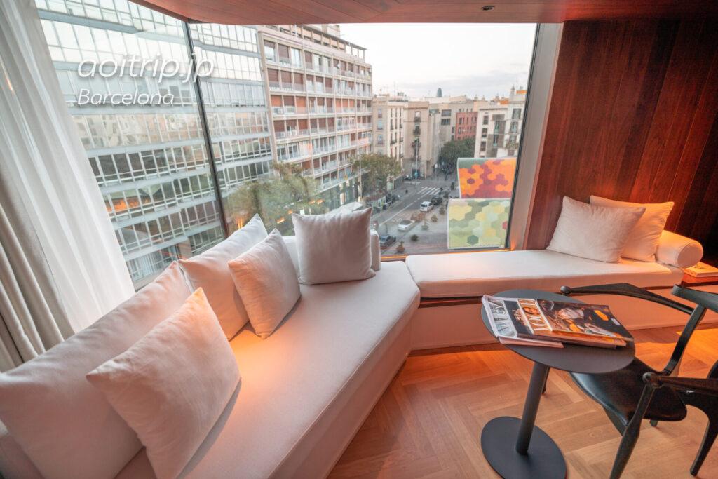 ザバルセロナエディションホテルのスイートルーム