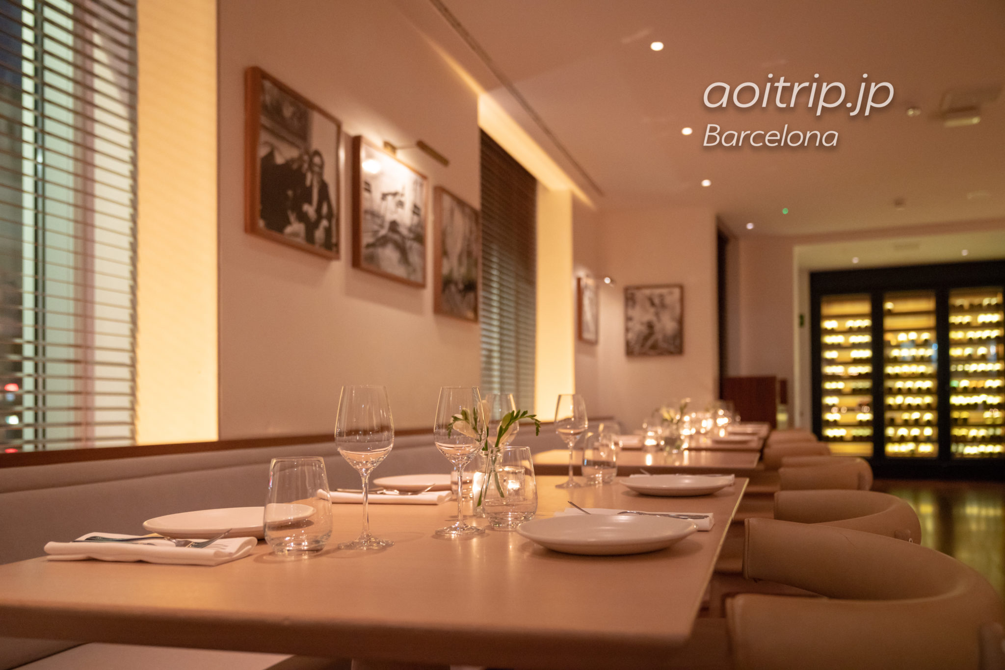 ザバルセロナエディションホテルのレストラン
